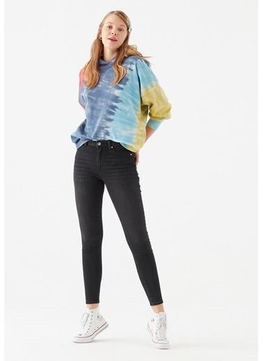 Mavi Tess Gold Shape  Jean Pantolon Gri